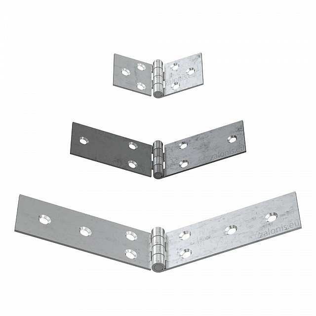 LONG HORIZONTAL STEEL HINGES